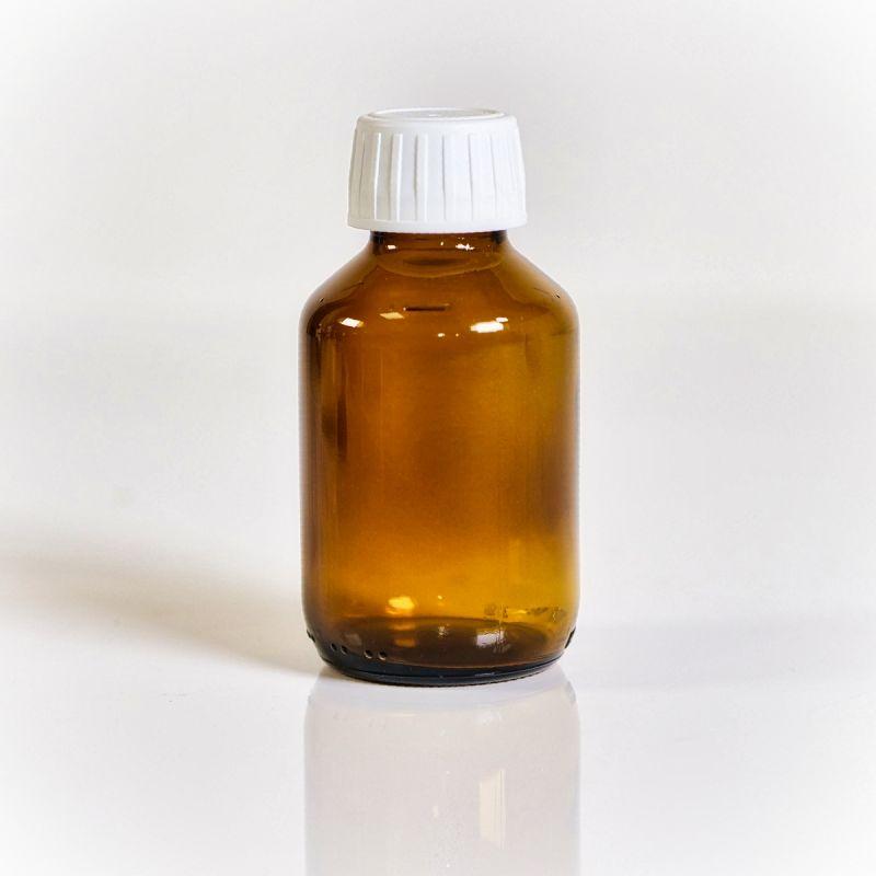 Colloimed Braunglasflasche 500ml - für die Herstellung von kolloidalen Flüssigkeiten