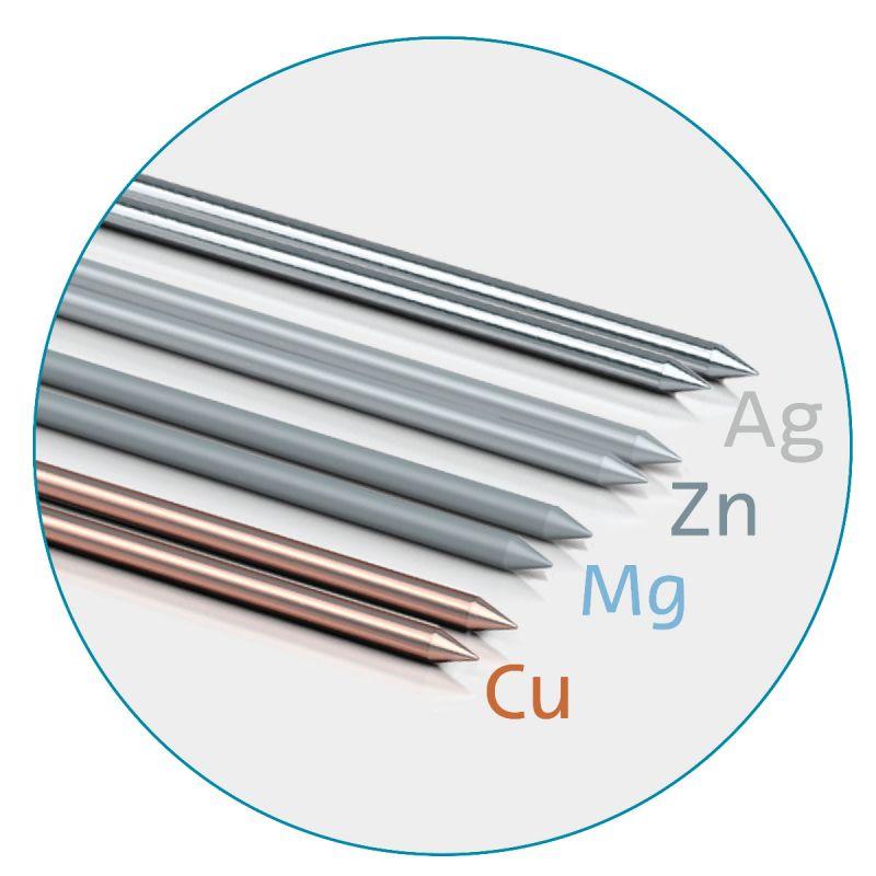 Colloimed Automatischer Silbergenerator CM2000 + Elektrodenset für kolloidales Silber, Magnesium, Kupfer und Zink + Colloidchen