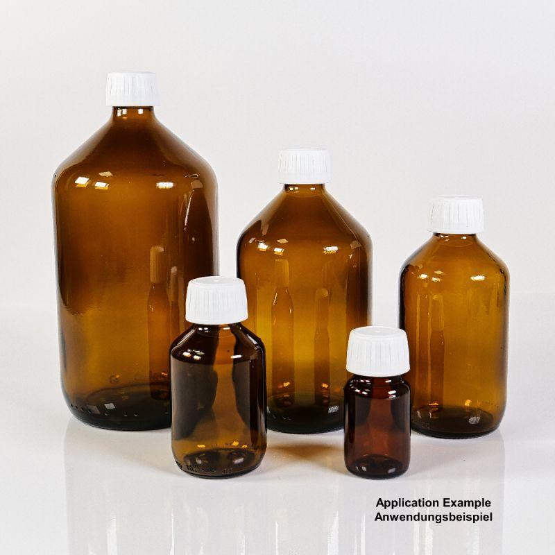 Colloimed Braunglasflaschen - 30ml, 100ml, 250ml, 500ml, 1000ml