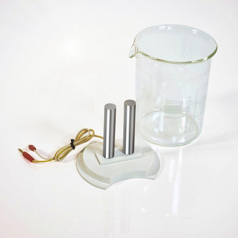 Colloimed Chrom Elektroden zur Herstellung von kolloidalem Chrom