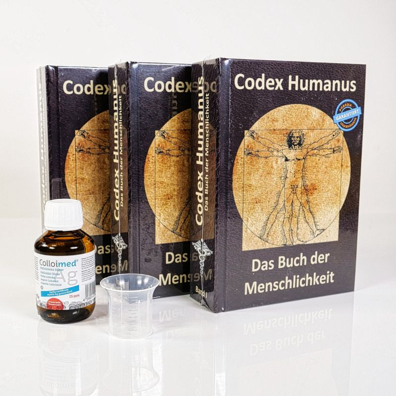 Colloimed Codex Humanus 3 mit kolloidales Silber - nie  wieder krank