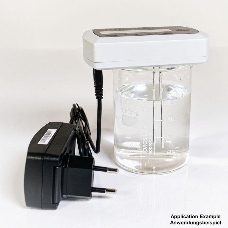 Colloimed Bidestilliertes Wasser - Kolloidales Wasser herstellen - 1 Liter - Anwendungsbeispiel