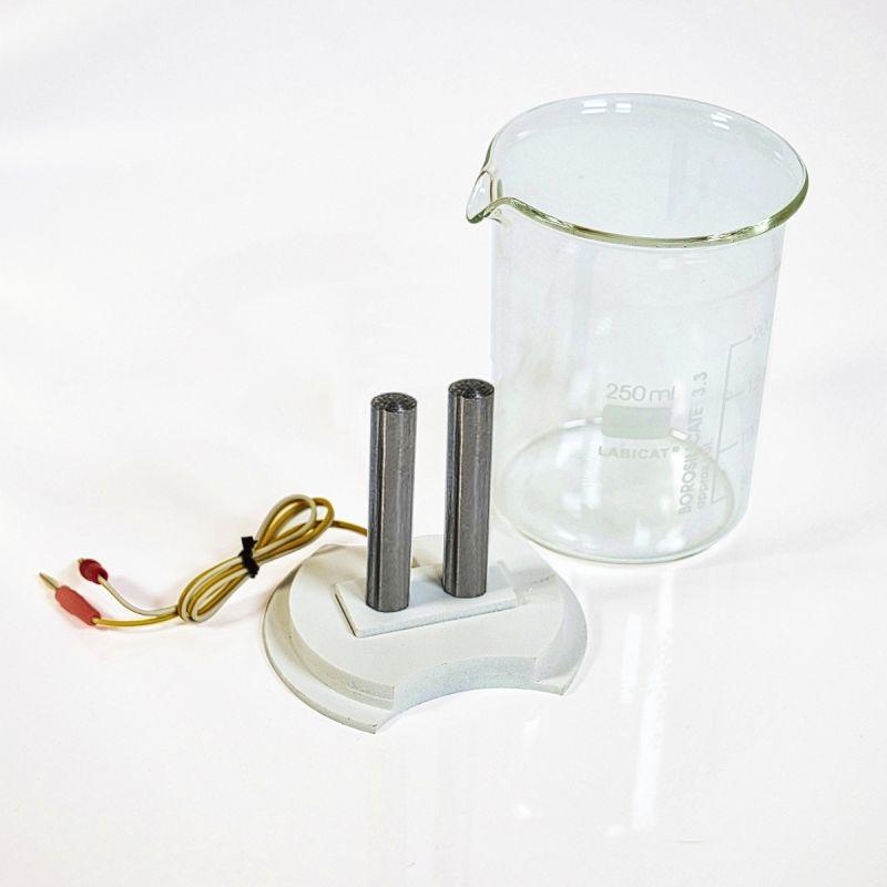 Colloimed Eisen Elektroden zur Herstellung von kolloidalem Eisen