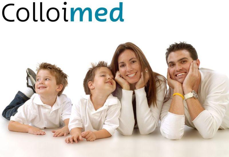 Colloimed Familie Gesundheit mit Gold