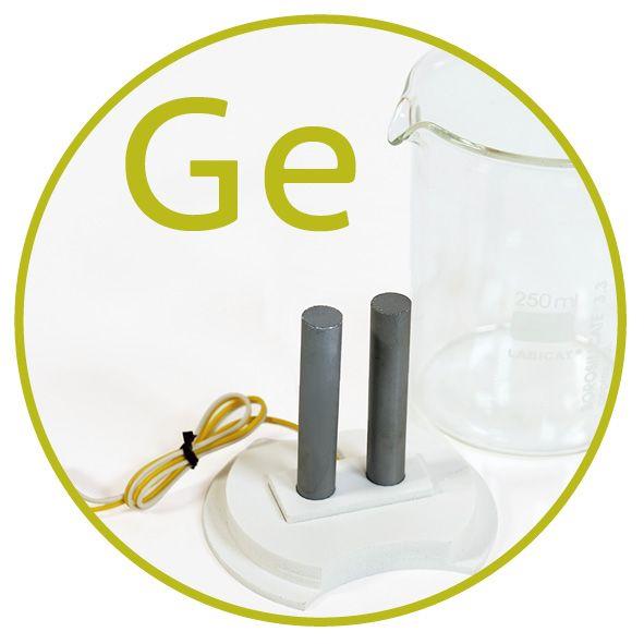 Colloimed Germanium Elektroden zur Herstellung von kolloidalem Germanium