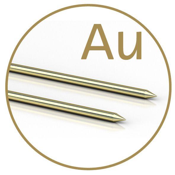 Colloimed Gold-Elektroden 3mm Adapter für Ionic-Pulser