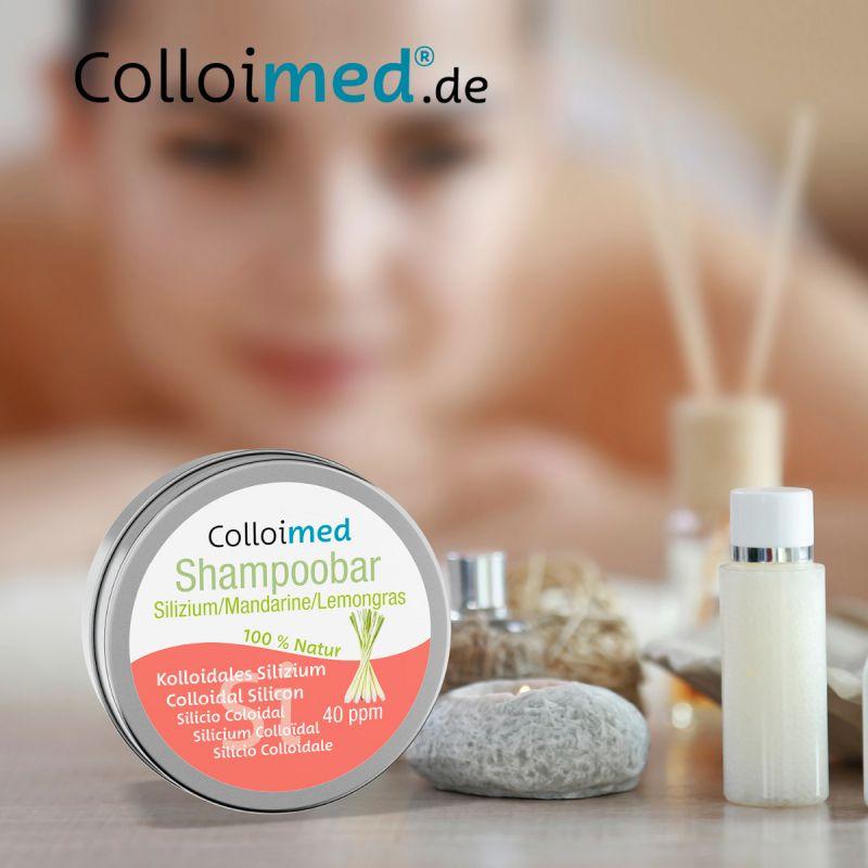 Colloimed Haar Shampoobar mit kolloidales Silizium