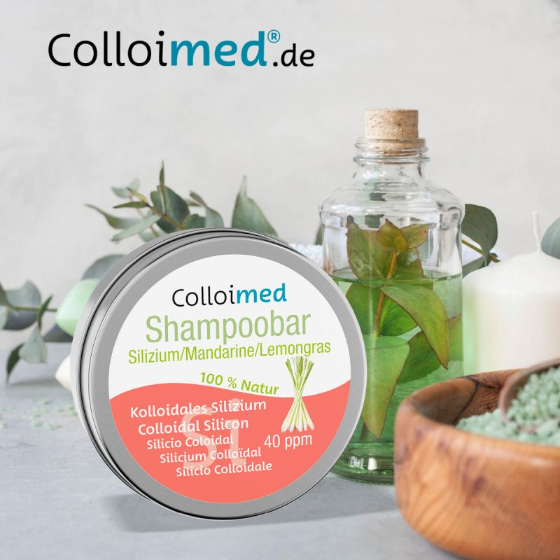 Colloimed Haar Shampoobar mit kolloidalem Silizium