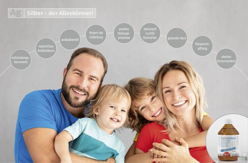 Colloimed Kolloidales Silber Gesundheit fuer die ganze Familie