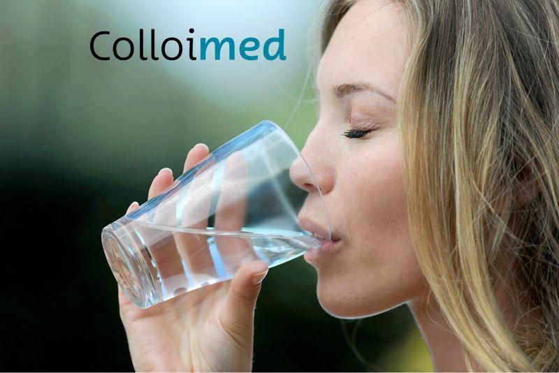 Colloimed kolloidales Silizium gesundes Spurenelement Gesundheit zum trinken