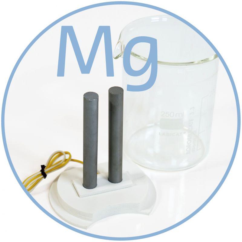 Colloimed Magnesium Elektroden zur Herstellung von kolloidalem Magnesium