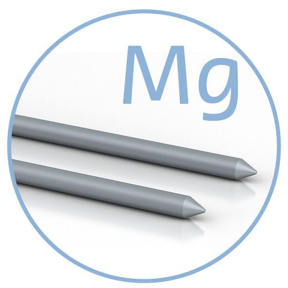 Colloimed Magnesium Elektroden - 2x80mm - Kolloidales Magnesium selbst herstellen
