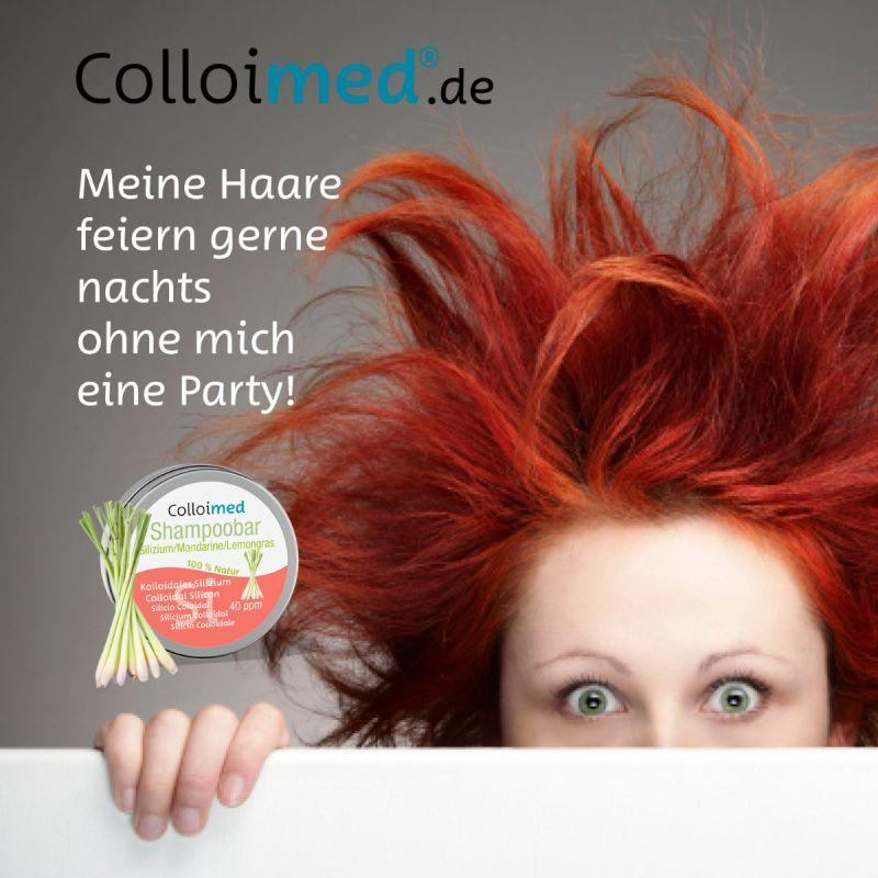 Colloimed Shampoobar Silizium - Meine Haare feiern gerne nachts ohne mich eine Party!