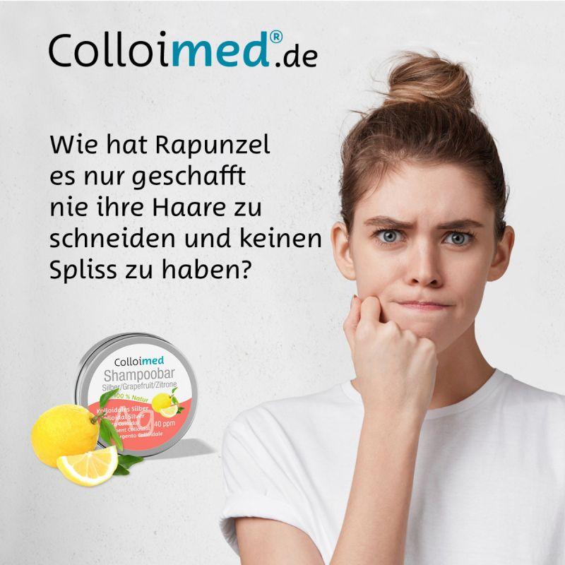 Colloimed Shampoobar Silber - Wie hat Rapunzel es nur geschafft nie ihre Haare zu schneiden und keinen Spliss zu haben?